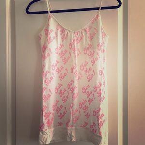 Victoria's Secret PINK sleep cami